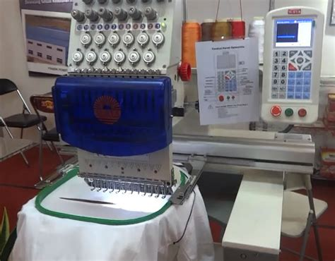 Mesin Bordir Merk Feiya s 1201pt mesin bordir 1 kepala 12 jarum merk quot surya quot