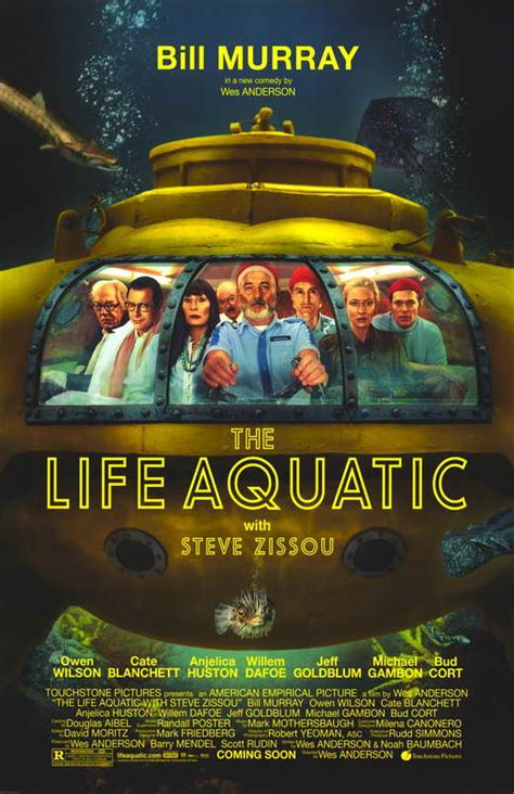 biography movie posters the life aquatic with steve zissou movie posters from