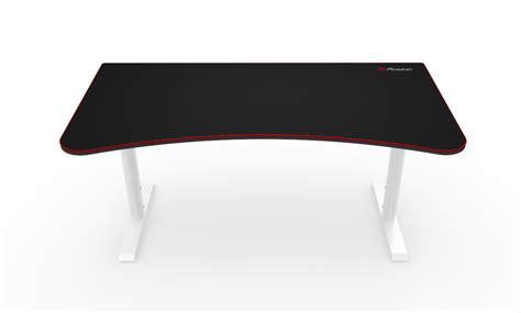 gameing desk arena gaming desk white arozzi