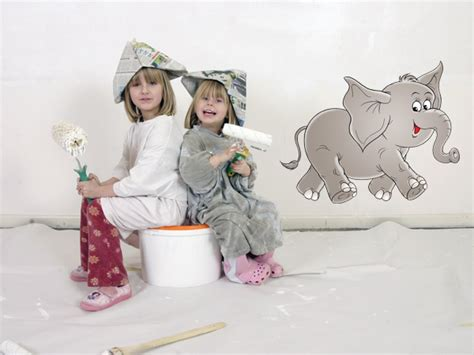 Wandsticker Drucken by Wandsticker Wandaufkleber Elefant Bestellen Bei