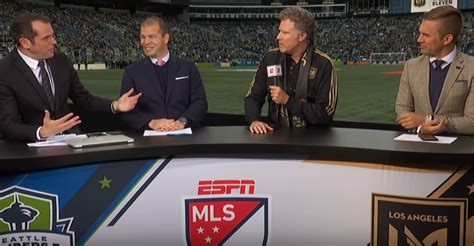 will ferrell lafc will ferrell sets up lafc seattle sounders mls clash as