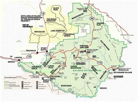 map of big bend texas f7 5 big bend national park u s nia jack愛台灣的部落格 udn部落格