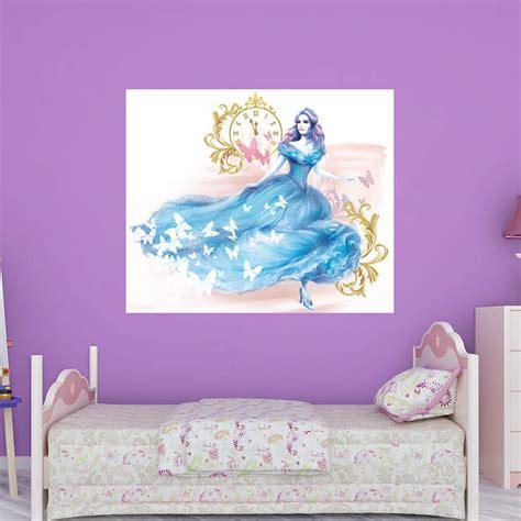 cinderella bedroom decor cinderella movie mural wall decal shop fathead 174 for