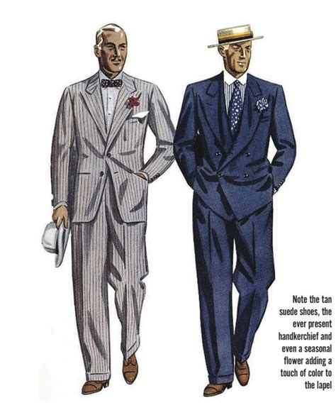 past a brief history of men s style in america