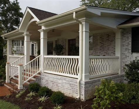 front porch ideas front porch plans for a single level house