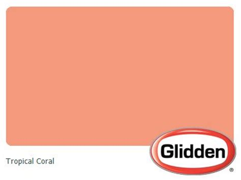 coral paint colors tropical and coral on