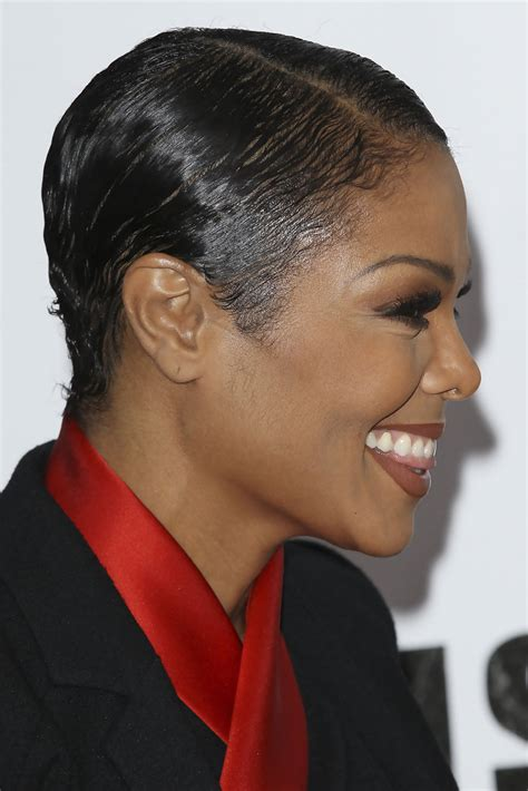 short cut with janet hair more pics of janet jackson short straight cut 7 of 16