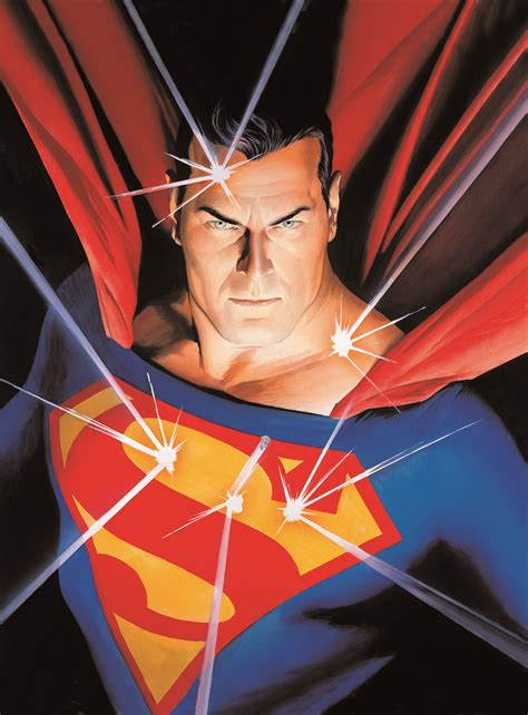 Comic Book Shelves by Alex Ross Amazing Stories