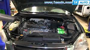 how to install replace ignition coils 2 5l 2002 06 nissan