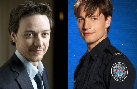 james mcavoy zoe saldana separated at birth british celebrities and their american