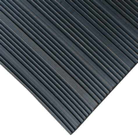 Corrugated Rubber Mat by Rubber Cal Composite Rib Corrugated Rubber Anti Slip Floor