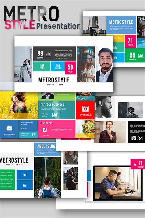 Metro Style Premium Presentation Powerpoint Template 66949 Free Premium Powerpoint Templates