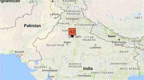 earthquake delhi earthquake today delhi wakes up to tremors epicentre