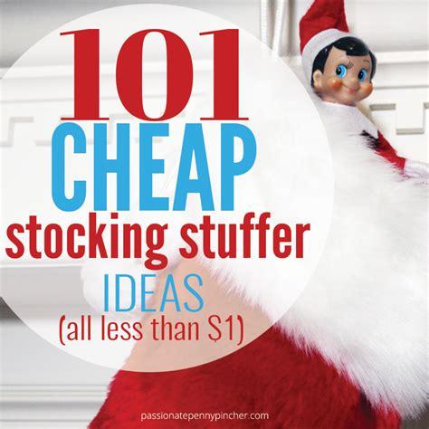 stocking stuffer 101 cheap stocking stuffer ideas passionate penny pincher