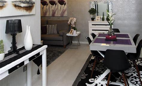 Lu Hias Meja Makan hiasan dalaman apartment moden kontemporari dekorasi