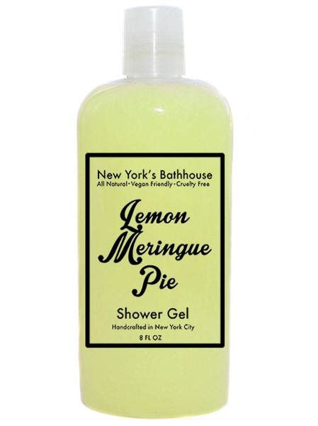 New Shower Gel by Lemon Meringue Pie Shower Gel New York S Bathhouse