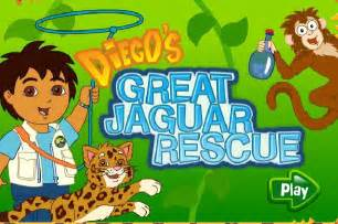 Diego Jaguar Rescue Diego S Dinosaur Adventure Play At Toongames Org