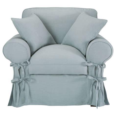 Grey Blue Armchair Armchair In Blue Grey Linen Butterfly Butterfly