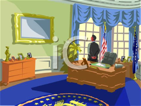 oval office paintings clipart picture of an american president in the oval office