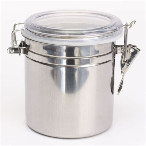 stainless steel kitchen storage canister 1 4pcs airtight stainless steel canisters storage