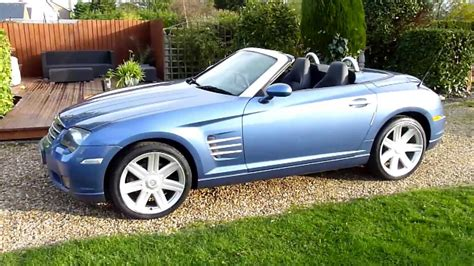 2004 Chrysler Crossfire Review by Review Of 2004 Chrysler Crossfire 3 2 V6 Convertible