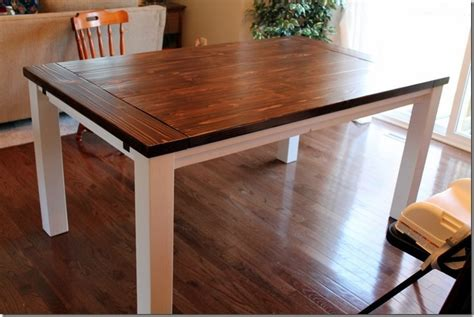 extension dining table plans diy farmhouse table with extension leaves plans dining