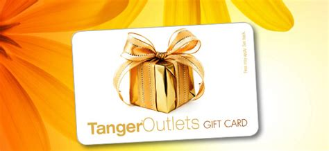 Free Tanger Gift Card - 10 off a 50 tanger outlet gift card freebies2deals