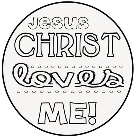free printable coloring pages jesus loves me jesus loves me printable coloring pages pinterest