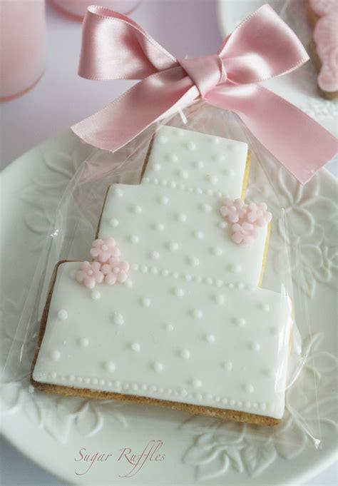 Wedding Favors Cookies by Sugar Ruffles Wedding Cakes Barrow In Furness