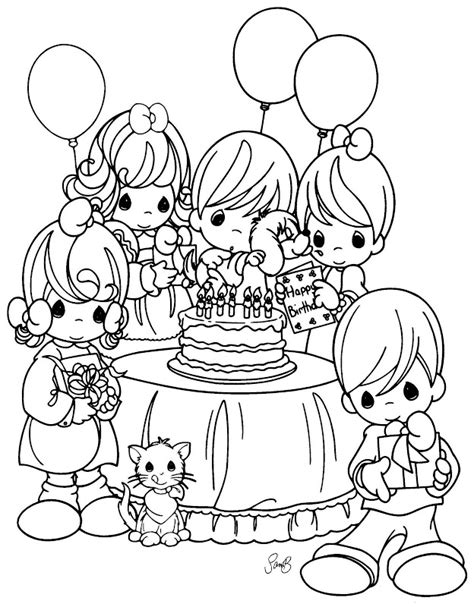 christmas coloring pages nativity precious moments