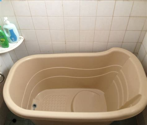 baby folding bathtub folding baby bath tub diy rmrwoods house as you leave