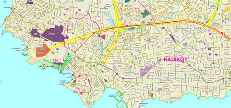 istanbul anadolu yakasi haritasi