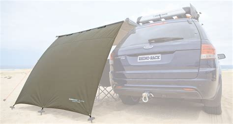 roof rack awning price rhino rack sunseeker awning side wall