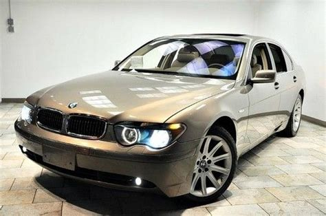 how make cars 2002 bmw 7 series engine control purchase used 2002 bmw 745i 19wheels lux pkg only 44k ext 4yr warranty in paterson new jersey
