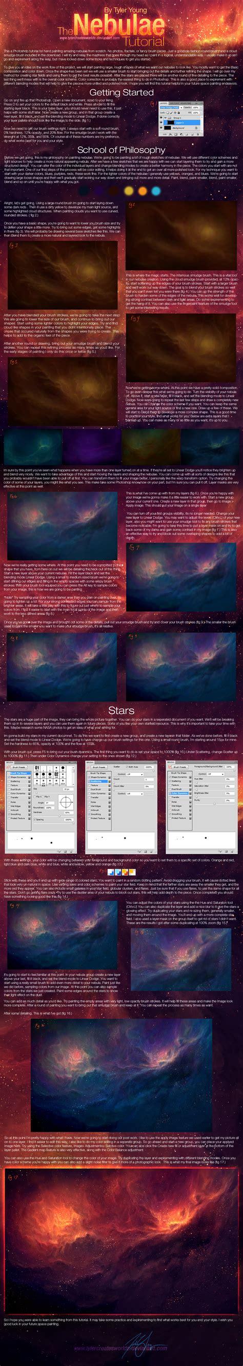 nebula pattern photoshop download nebulae tutorial by tylercreatesworlds on deviantart