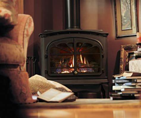 Heat & Glo Tiara II Freestanding Gas Fireplace   NW