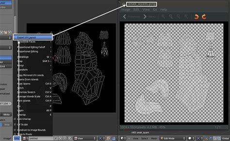 layout uv langkah uv texturing di blender panduaji net