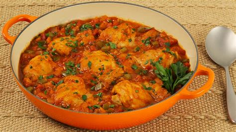 easy chicken recipes chicken cacciatore recipe dishmaps