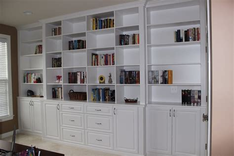 melamine bookshelves office bookshelves in white melamine traditional dc metro by closets home organization