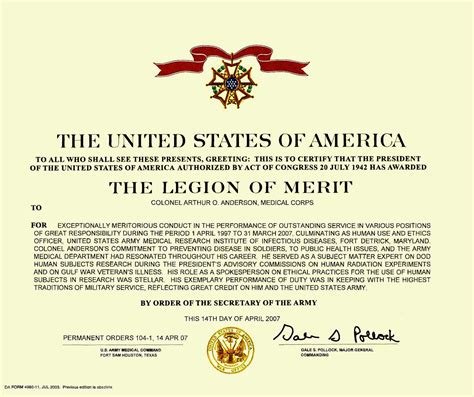 meritorious service medal citation template meritorious service medal template citation certificates