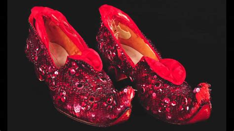 ruby slippers auction price judy garland test ruby slippers dress from the wizard of