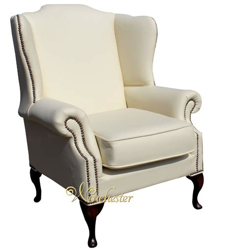 High Back Wing Chair Chesterfield Mallory Saxon Flat Wing High Back Wing Chair