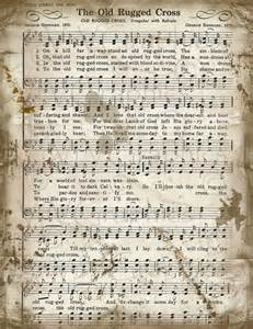 Old Rugged Cross Piano Sheet Music The Old Rugged Cross Sheet Music Christian Hymn By