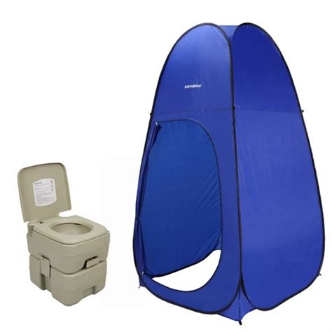 portable bathroom tent north gear pop up toilet tent 5 gallon portable toilet golf outlets of america