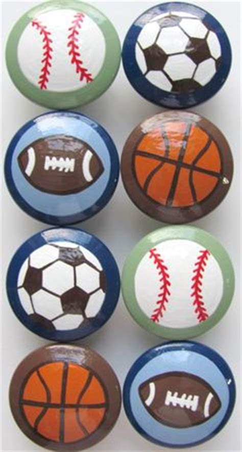 Sports Door Knobs by Boys Sports Rooms On Sports Room Decor Sport