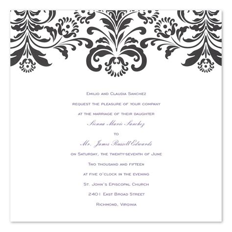 Wedding Invitation Card Black And White by Teleinfo 2012 04 01