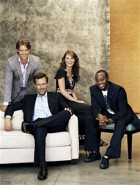 cast of house house m d cast images hugh jennifer eric and jesse hd