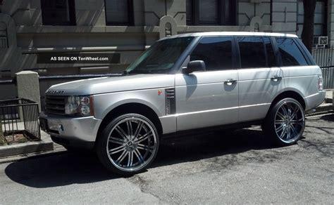 land rover chrome 2004 range rover hse car interior design