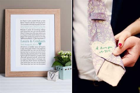 wedding day gift ideas for brides grooms