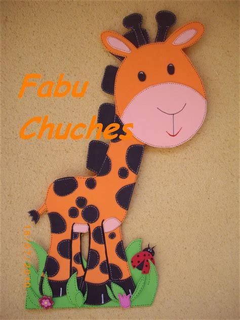 imagenes de jirafas en fomix dibujos en foami jirafas imagui
